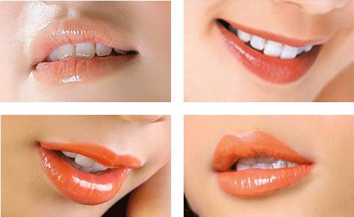 Phun môi có hại không
