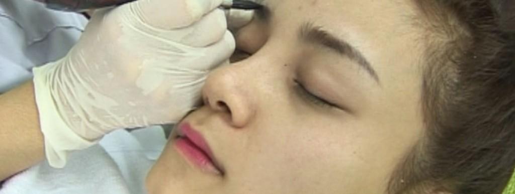 Kết quả sau điêu khắc lông mày tại TMV Kangnam?3