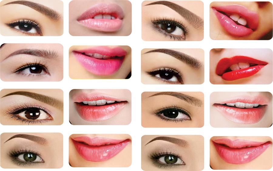 Vừa xăm mí mắt vừa xăm môi trong cùng 1 ngày có được không?1