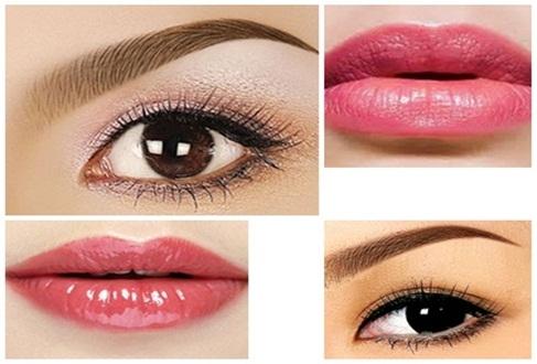 """""""Bật mí"""" kỹ thuật phun xăm cho mắt đẹp, môi hồng2"""