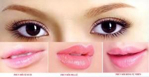 Mắt đẹp, môi hồng với nghệ thuật phun xăm cho cô nàng công sở