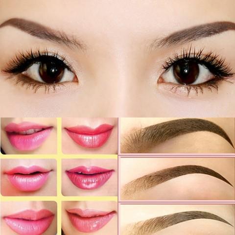 Độc đáo với cách làm đẹp môi, lông mày của phụ nữ Tà Ôi xưa3
