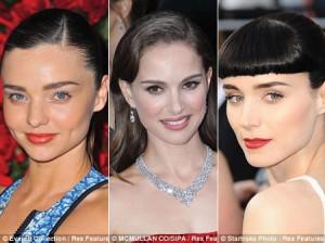 """""""Điểm danh"""" những dáng lông mày đang được lòng sao Hollywood"""