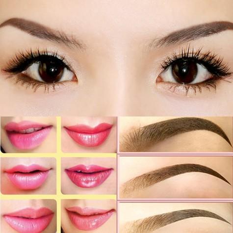 Phụ nữ Việt xưa làm đẹp môi, lông mày bằng gì?7