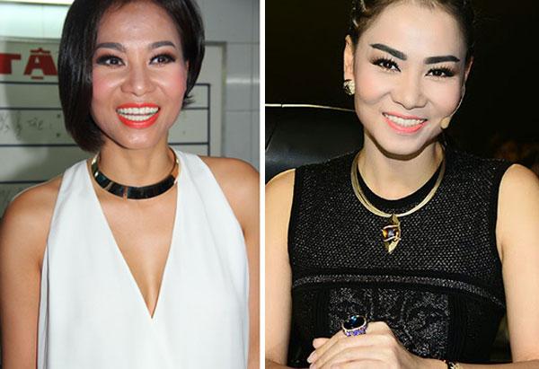 Những lỗi kẻ lông mày khiến fan khiếp vía của Sao Việt3