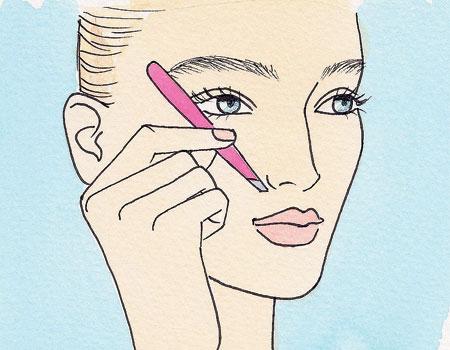 Bỏ túi cách cạo lông mày đẹp tại nhà cho bạn gái khéo tay 3