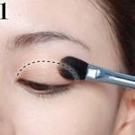 Cách trang điểm mí mắt cho đôi mắt to tròn quyến rũ