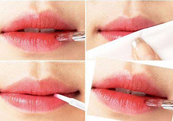 kiểu môi xí muội 3