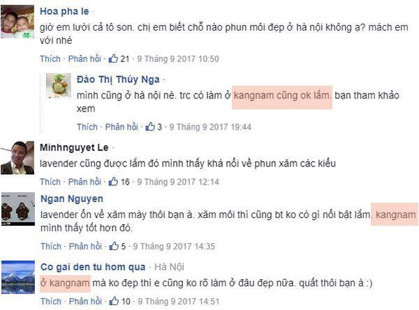 địa chỉ phun môi uy tín ở Hà Nội