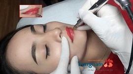 Phun xăm môi xí muội – Sở hữu đôi môi đẹp ngây thơ chuẩn Hàn vĩnh viễn