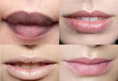 xăm môi về bị thâm