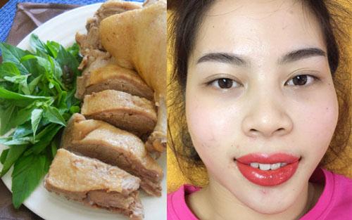 xăm môi có kiêng thịt vịt không